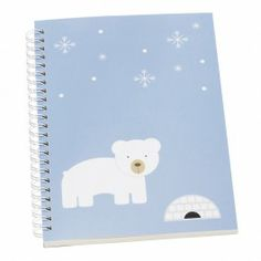A5 EVERYDAY NOTEBOOK POLAR BEAR: CUTE