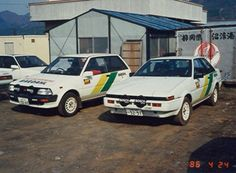 Toyota Rally and Rally Toyota Racing Development, Toyota Starlet, Ae86, All Cars, Cars And Motorcycles, Rally, Offroad, Old School, Japanese