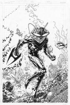 Black Manta by David Finch