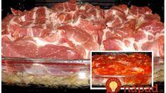 Strašne dobrý obed, na ktorý vám treba len 4 prísady: Lenivá krkovička z rúry – výborné papanie, ktoré pripravíte počas reklamy! Meat Recipes, Cooking Recipes, Food And Drink, Beef, Halloween, Meat, Chef Recipes, Steak