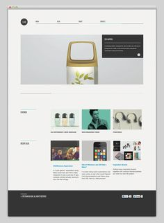 Really minimalist. Clean + professional. Great for a consistent blogger to highlight posts. Would love to see sign up above fold.