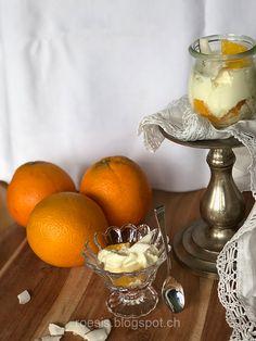 Bild Dessert, Orange, Dairy, Cheese, Mascarpone, Woman, Deserts, Postres, Desserts