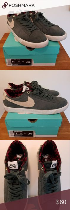 a273c301d4cddf Nike Blazer Low GT Used worn twice. Good condition. Soles are easily scuffed