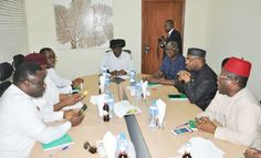 Fayose Wike Other PDP Governors In Close Door Meeting With GEJ (Photos)