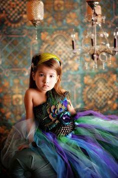 peacock dress | Tumblr