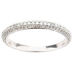 Diamond Gold Band Ring 1