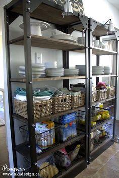 10 Restoration Hardware Hacks Industrial shelves Restoration
