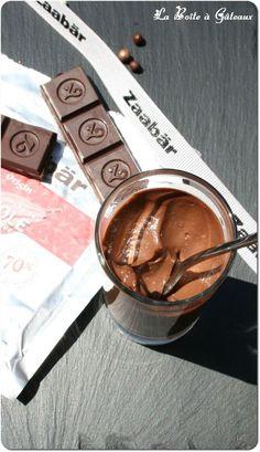 Crème au chocolat de Christophe Felder