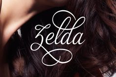 Zelda is a calligraphy, handwritten typeface created and published by Artimasa that it can be use for romantic projects