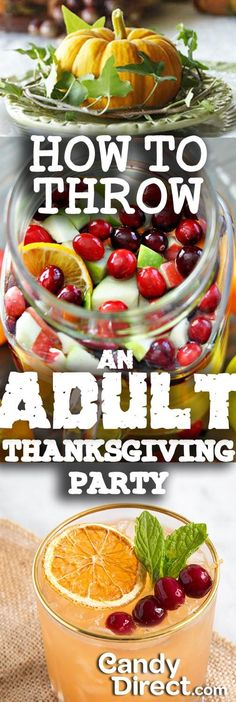 How to Throw an Adult Thanksgiving Party