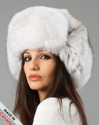 6783fde1af8 Shop FurHatWorld for Premium Full Fur Russian Style Hats. Buy the Ladies  Natural White Fox Full Fur Russian Hat by FRR with fast same day shipping.