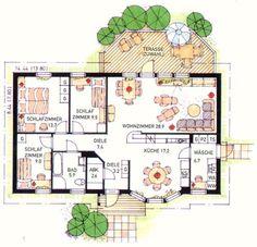 Grundriss Schwedenhaus Småland 3 Architectural Floor Plans, House Plans, Sweet Home, House Design, Flooring, How To Plan, Interior, Houses, Modern