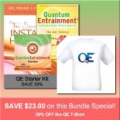 JULY 2014 SPECIAL #3: Order the QE Starter Kit for regular discounted price and SAVE 50% on the QE T-SHIRT http://www.shop.qeprocess.com/QE-Starter-Kit-50-off-QE-T-Shirt-QE-START-TSHIRT.htm