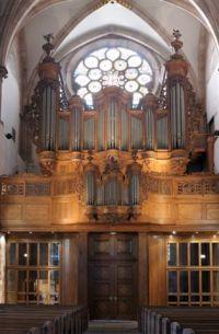 Grand Orgue Silbermann de Saint-Thomas à Strasbourg