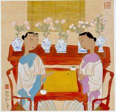 Hu Yongkai (male, 胡永凯; b1945, Beijing)   微博 文章 - 胡永凱作品(1)逝梦