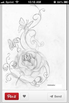 Aaahh pretty for a tattoo !! But i dont want alot of them ! /: