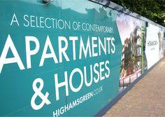 Highams Green Construction hoardings