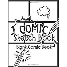 Read Book: Comic Sketch Book - Blank Comic Book, Create Your Own Drawing Cartoons and Comics (Large Print 120 Pages) (Drawing comics) - Reading Free eBook / PDF / Book Blank Comic Book, Free Comic Books, Free Pdf Books, Vigan, Drawing Cartoon Characters, Cartoon Drawings, Doodle Drawings, Comic Book Publishers, Free Comics