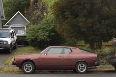 OLD PARKED CARS.: 1976 Datsun F10, Revisited.