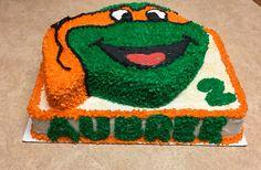 Michelangelo Ninja Turtle Cake!