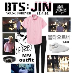 """~All night long~ One of BTS Jin's outfits from their new music video """""""