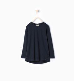 Bilde 1 fra T-skjorte i økologisk bomull fra Zara