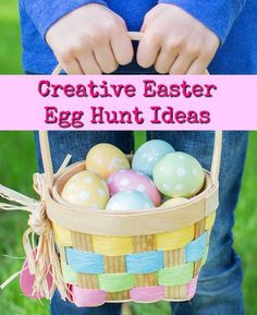 Over 101 easter egg filler ideas that are not candy easter egg creative easter egg hunt ideas negle Image collections