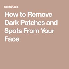 Many adults suffer from dark patches on their face, forehead, and cheeks. Read on to find out some fantastic ways to prevent and get rid of these unsightly blemishes on your skin. Spots On Legs, Spots On Face, Dark Spots, Age Spot Treatment, Blemish Remedies, Blemish Remover, Anti Itch Cream, At Home Face Mask, Face Scrub Homemade