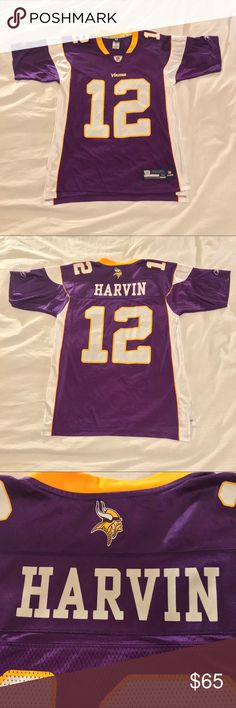 Minnesota Vikings Reebok Jersey  12 Percy Harvin Minnesota Vikings Reebok  Onfield Jersey  12 Percy Harvin. Great condition 80a4f0f12