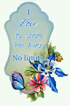 Pin Away! No limits! Welcome!.