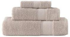 Grund Turkish Certified 100% Organic Cotton Towels in Driftwood (Set of 3)