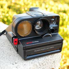 Vintage Polaroid Pronto Land Camera  Sonar One Step SX70 by vint, $28.00