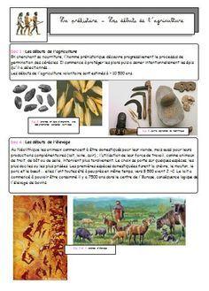 La préhistoire : métaux, agriculture, sédentarisation