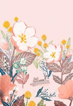 106번째 이미지 Nature Illustration, Floral Illustrations, Illustrations And Posters, Cute Illustration, Of Wallpaper, Storyboard, Cute Drawings, Illustrators, Creations