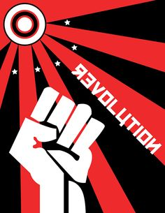 Russian Revolution Poster by Natalie Topolski, via Behance