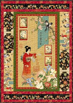 Geisha quilt