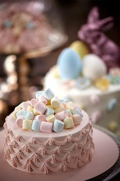 Pastel Marshmallows Topper!