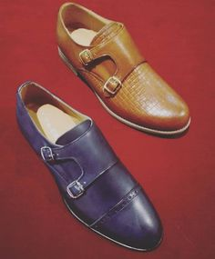 Some classy options for all the gentlemen! 🎩 Double monks from Lea-Gu!  Which one is yours? Navy blue with ornamentation or camel in braided leather?  Both available in Cherry Heel with special price!  Don't miss it!   #CherryHeel #Luxury #shoe #boutique #monk #doublemonk #handmade #gentlemen #elegance #style #fashionforhim #handmade #handmadeshoes #mensshoes #mensstyle #menwithstyle #luxuryfootwear #luxuryshoes #forhim