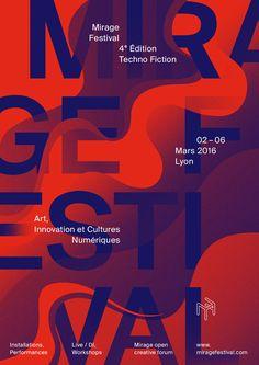Mirage Festival 4ᵉ Édition, Techno Fiction. Art, Innovation et Cultures Numériques à Lyon, du 02 au 06 mars 2016. Installations, performances, workshops, lives...