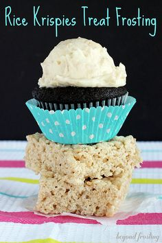 Rice Krispies treat frosting
