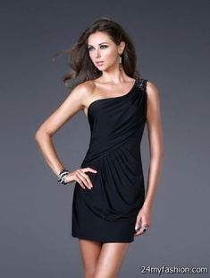 Nice Little black party dress 2018-2019 Check more at http://24myfashion.com/2016/little-black-party-dress-2018-2019/