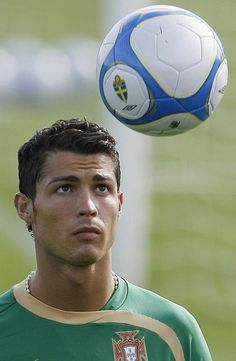 Cristiano Ronaldo. Because you can never have enough photos of Cristiano, the Madeiran born Portuguese man is the best in soccer!