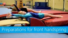 The basis of many gymnastics skills! Various front handspring drills, to work on positions, keeping form and creating energy! Have fun! Gymnastics Gear, Gymnastics Lessons, Gymnastics Levels, Gymnastics Academy, Gymnastics Floor, Gymnastics Quotes, Gymnastics Coaching, Gymnastics Videos, Gymnastics Workout