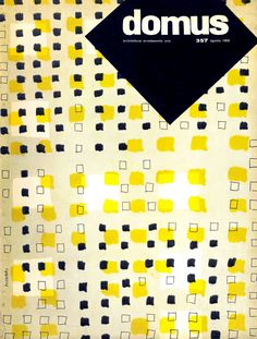 «Domus» - Architettura, arredamento, arte, N. 357, 1959. Cover design: Bruno Munari