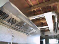 """Ristorante """"Solo Ciccia"""" di Dario Cecchini - Panzano in Chianti (Impianto di aspirazione aria cucina)"""