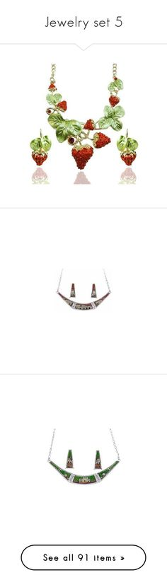 """""""Jewelry set 5"""" by thesassystewart on Polyvore featuring jewelry, wedding jewelry, crystal bead jewelry, wedding jewellery, african jewellery, african jewelry, necklaces, pocahontas, beaded jewelry sets and disney jewellery"""