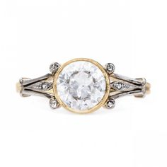 Art Nouveau Solitaire Ring | Earlmar Drive