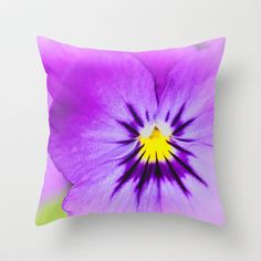 Viola Throw Pillow by inkedsandra - $20.00