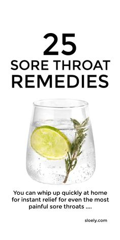 Quick sore throat home remedies for kids and adults that give instant relief for sore throat pain and inflammation. These quick DIY sore throat remedies including sore throat teas plus sore throat gargles, popsicles, gummies, smoothies, soup, slushies and more that you can make easily as home remedies. #sorethroat #sorethroatremedy #sorethroatremedies #sorethroattea #sorethroatrelief #sorethroathomeremedy Sore Throat Relief, Throat Pain, Sore Throat Remedies For Adults, Health Remedies, Recipe Using Honey, Souvenirs