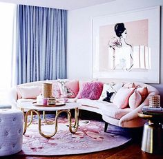 Megan Hess living room